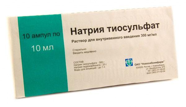 pikkelysömör kezelése nátrium-tioszulfáttal)