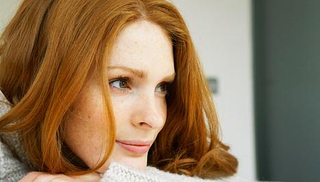 vörös folt jelent meg az arcomon)