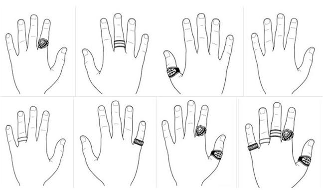 Melyik kézre? - Így viseld az eljegyzési gyűrűt és a karikagyűrűt