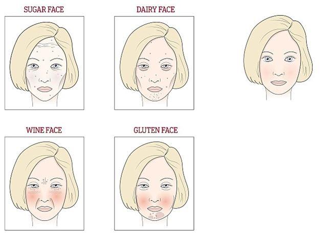 fagyvörös foltok után az arcon
