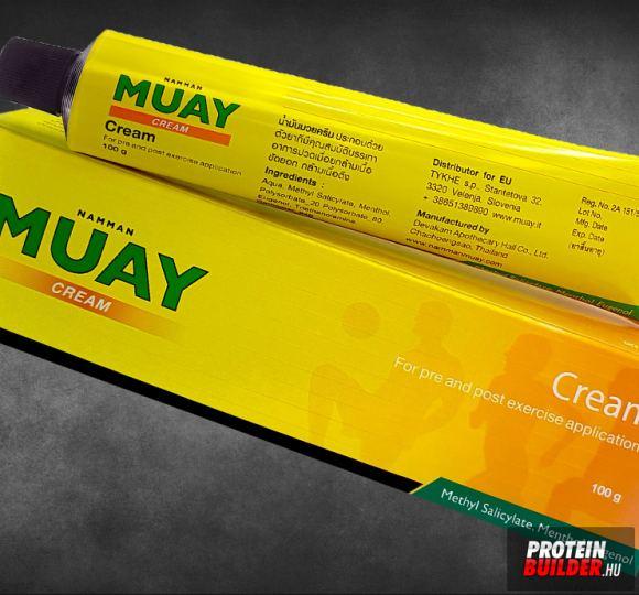 MUAY krém - Namman Muay Thai krém és olaj - Thai balzsamok ízületi fájdalmakhoz