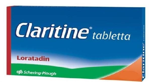 claritin pikkelysömör kezelésében)